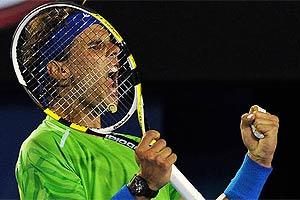 Nadal se mete en semifinales por la puerta grande