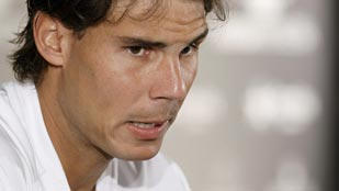 Nadal no se ve favorito en Madrid