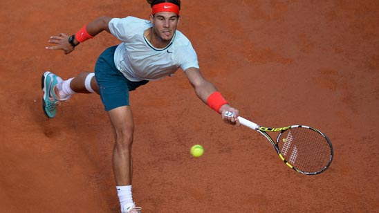 Nadal, sin rival en Federer para triunfar en Roma