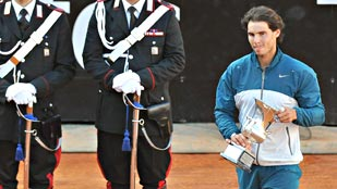 Nadal vuelve al n&uacute;mero 4 de la ATP tras ganar en Roma
