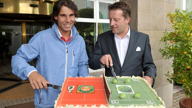 Nadal ya celebra su Roland Garros desde Alemania