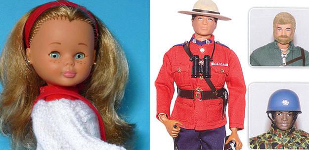 La Nancy y el Madelman, dos de los muñecos más famosos de la historia de España