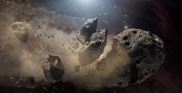 La NASA 'exculpa' a una familia de asteroide de acabar con los dinosaurios