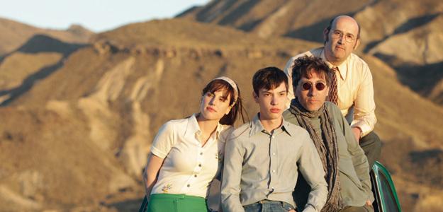 Natalia de Molina, Francesc Colomer, David Trueba y Javier Cámar, en el rodaje.