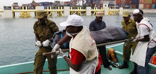 Naufragio de un ferry en Tanzania
