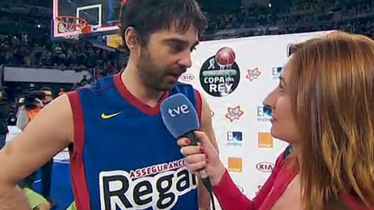 Navarro: &quot;Se me ha vuelto a escapar el MVP&quot;