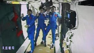 Ver vídeo  'La nave china 'Shezhou IX' se acopla con éxito'