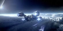 La nave Prometheus.