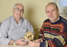 BIenvenido Martínez-Navarro y Policarp Hortolà, los dos científicos españoles que han lanzado la teoría