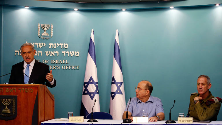 """Netanyahu sostiene entre las críticas que la ofensiva en Gaza ha sido un """"éxito político y militar"""""""