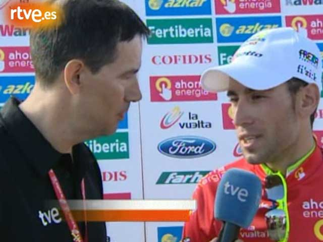 Nibali, contento y triste a la vez