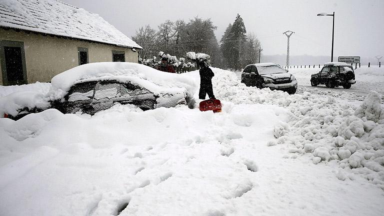 Aviso de nieve en más de 20 provincias