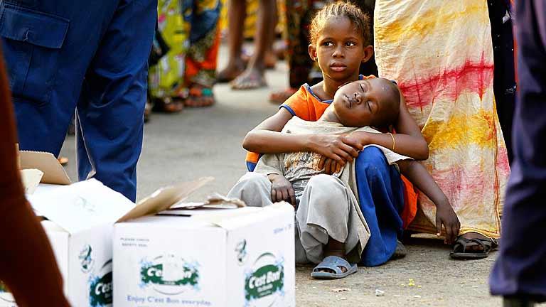 Los niños, grandes víctimas en el conflicto de la República Centroafricana