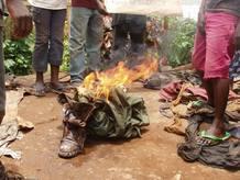 Niños soldado liberados en Congo