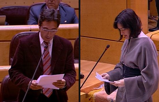"""José María Chiquillo, senador del PP, acusa a la ministra de Cultura de decir """"mentiras y gordas"""""""