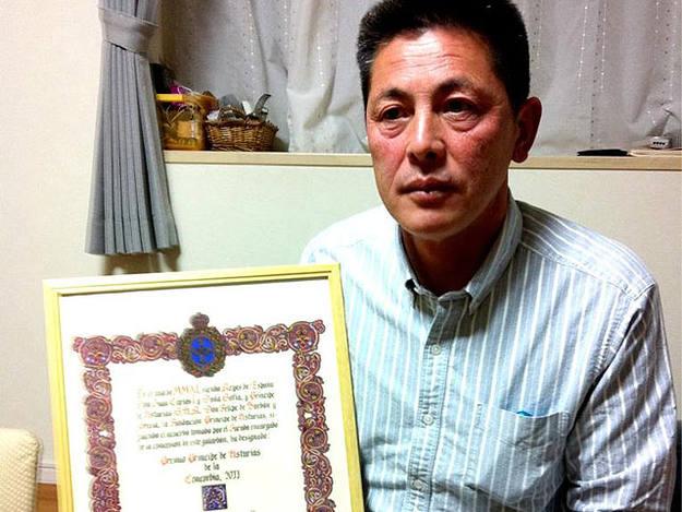 """""""No tuve miedo solo sentido del deber"""", dice uno de los héroes de Fukushima en su casa de Tokio."""