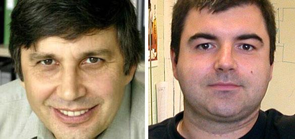Andre Geim y Konstantin Novoselov