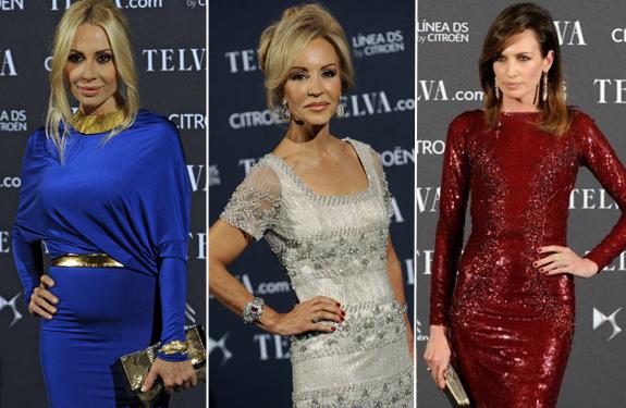 Noche de moda, glamour y celebrities