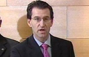 Ver v?deo  'Nombramiento de Alberto Núñez Feijóo como vicepresidente de la Xunta de Galicia en septiembre de 2004'