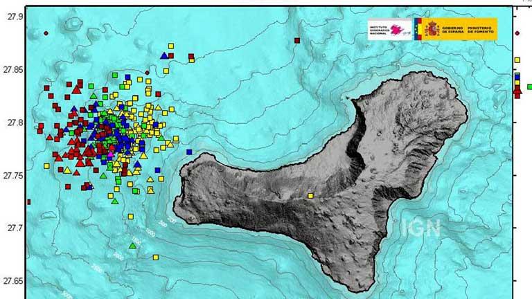 El Hierro vuelve a la normalidad tras el último movimiento sísmico