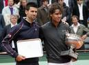 Novak Djokovic, finalista por primera vez, junto a Rafa Nadal, campeón por séptima vez en Roland Garros 2012