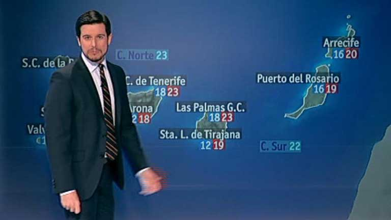Nubes y chubascos, m&aacute;s intensos en Catalu&ntilde;a y nieve en la cota 1.300