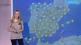 Ver vídeo  'La nubosidad persiste en el Cantábrico y en el resto, día soleado'