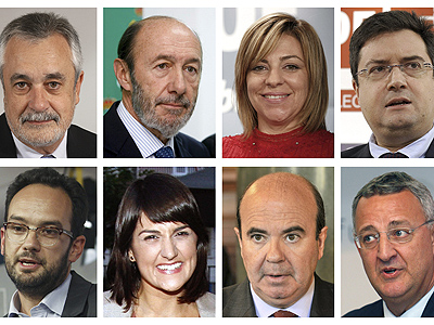 La nueva dirección del PSOE