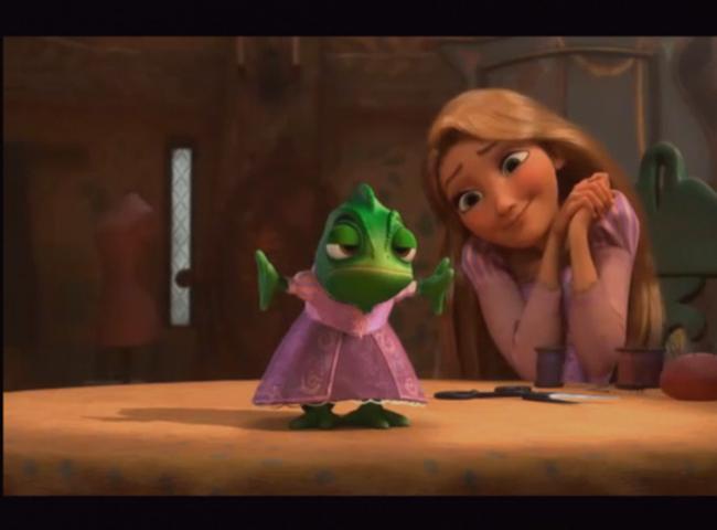 La factoría Disney tiene nueva heroína, una joven de armas tomar de melena interminable