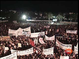 Ver vídeo  'Una nueva protesta social en Israel abarrota las calles de Tel Aviv'