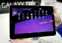 La nueva tableta de Samsung, 'Galaxy tab'