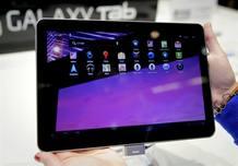 La nueva tableta de Samsung, 'Galaxy tab'