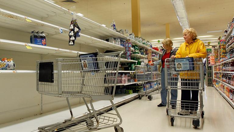 """Nueva York decreta una evacuación parcial y el cierre de las escuelas por el huracán """"Sandy"""""""