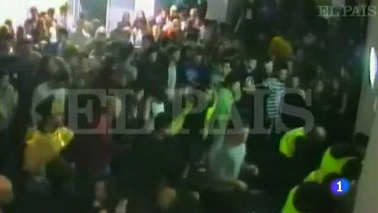 Un vídeo muestra hasta cinco avalanchas previas a la tragedia del Madrid Arena