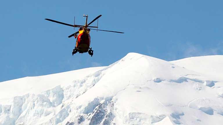 Nueve fallecidos en una avalancha en el Mont Blanc