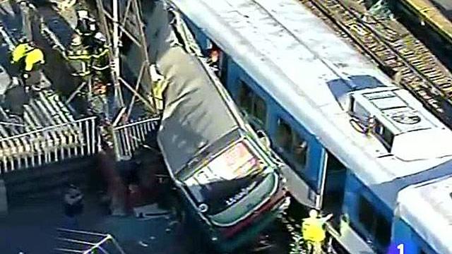 Un nuevo accidente de tren en Argentina deja 90 heridos