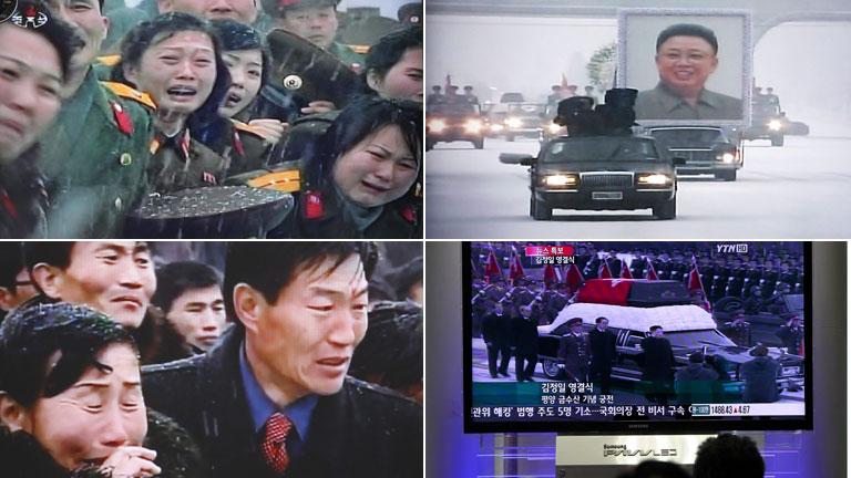 El nuevo líder de Corea del Norte da el último adiós a su padre, Kim Jong