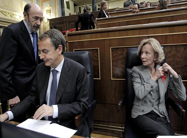 Rodríguez Zapatero ha anunciado en el Congreso un nuevo paquete de medidas