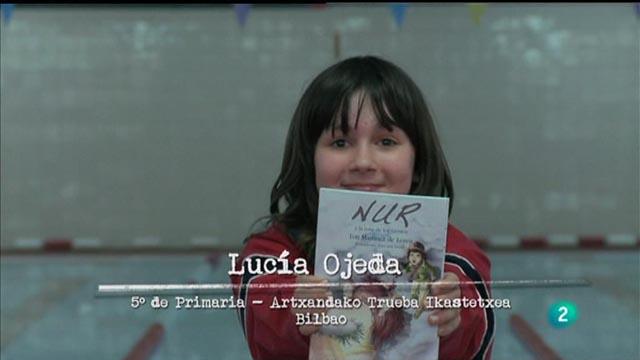 """Página 2 - Mini club de lectura: """"NUR y la rosa de los vientos"""", Toti Martínez de Lezea"""