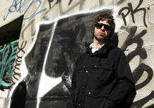 Musician Noel Gallagher of the band Oasis stands for a portrait in New York