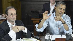 Ver vídeo  'Obama afirma que el G-8 quiere un plan que combine estabilidad y crecimiento'