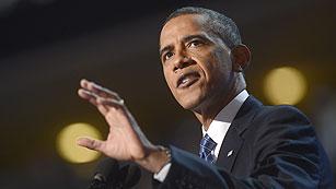 """Ver vídeo  'Obama: """"El camino que ofrezco es difícil pero lleva a un lugar mejor""""'"""