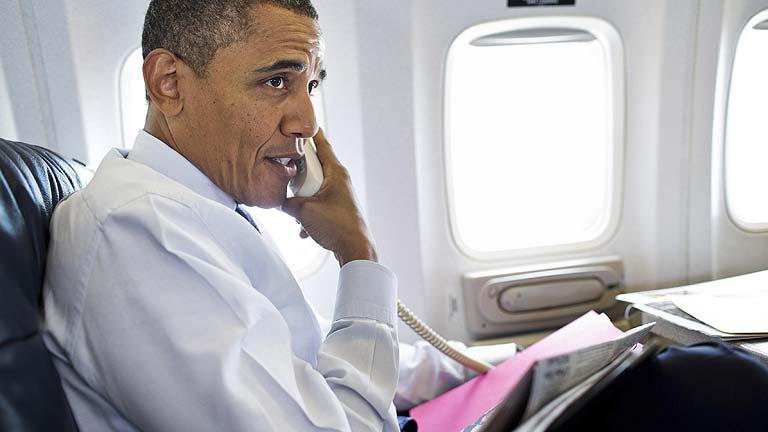 Obama llama a Rajoy para hablar sobre la crisis del euro y en España