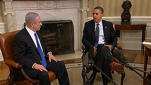 Ver vídeo  'Obama y Netanyahu exhiben una imagen de unidad sobre el programa nuclear iraní'