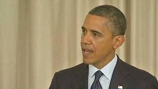 """Ver vídeo  'Obama prefiere que no haya """"un crecimiento de las actividades militares"""" en Gaza.'"""