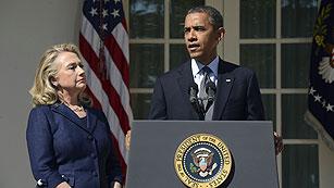 """Ver vídeo  'Obama promete que """"se hará justicia"""" por la muerte de su embajador en Libia'"""