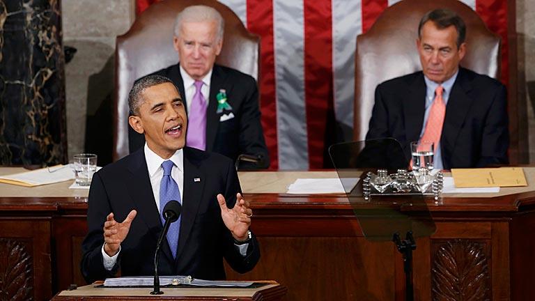 """Obama: """"Necesitamos un Gobierno más sensato, no más grande"""""""