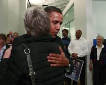 Obama recibe el pésame