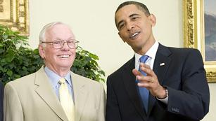 Ver vídeo  'Obama recuerda al Neil Armstrong como el mayor héroe americano'