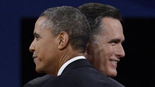 Ver vídeo  'Obama y Romney se enzarzan sobre Irán'